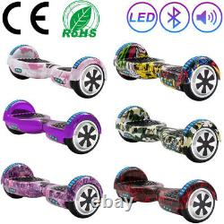 Electric Scooters 6.5 Bluetooth Hoverboard 2 Wheels Self-Balancing Scooter+Bag
