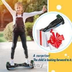 Electric Scooters 6.5 Hoverboard Bluetooth 2 Wheels Self-Balancing Scooter LED