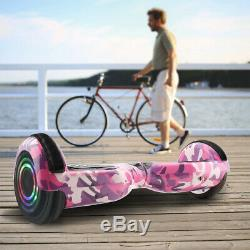Electric Scooters 6.5 Hoverkart LED 2Wheel Board SET Self-Balancing Scooter+Bag
