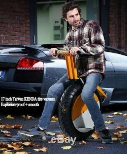 FREE DHL360 wh Battery 500W One Wheel Balancing Unicycle Electric 30km/h