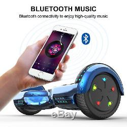 GeekMe Hoverboard Self Balancing Electric Scooter with Bluetooth 6.5inch for Kid