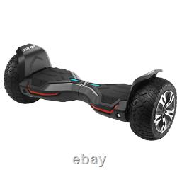 Gyroor G2 Pro 8.5 Off Road Black Electric Scooters Bluetooth Self Balance Board
