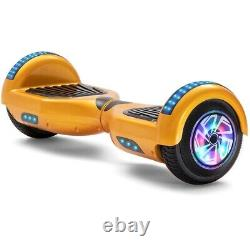 HoverBoard 6.5Bluetooth Electric LED Self-Balancing Scooter Kids Gift +WARRANTY