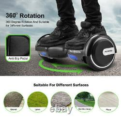 HoverBoard 6.5 Bluetooth Electric LED Self-Balancing Scooter Kids Gift+WARRANTY