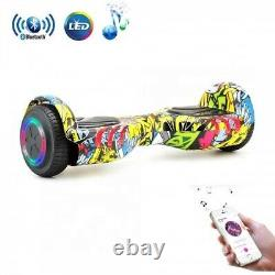 HoverBoard Bluetooth 6.5 Electric Scooters Colorful 2 Wheels Balance