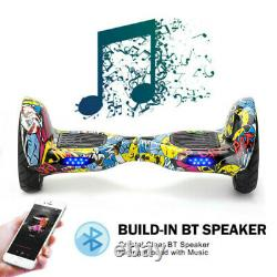 Hover 10 Self Balancing Board Electric Scooters Balance Board Bluetooth+bag+key