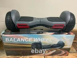 Hover Board Heavy Duty 8 Wheels Self Balancing Electric Scooter Brand New