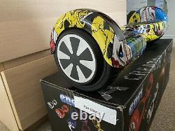 Hover Board Self Balancing Electric Scooter Kit 6.5 Wheel Comic Brand New