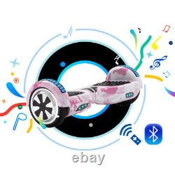 Hoverboard 6.5 Bluetooth Electric Scooters Self Balancing Scooter LED E-Scooter