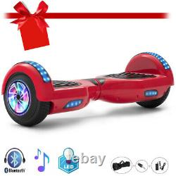 Hoverboard 6.5 Bluetooth Electric Self Balancing Scooters 2Wheels LED Lights-UK