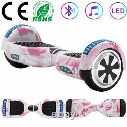 Hoverboard 6.5 Bluetooth Self-Balancing Scooter 2 Wheels Board Electric Scooter
