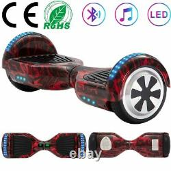 Hoverboard 6.5 Electric Scooters Bluetooth LED Self Balance Scooter 2 Wheel+Bag