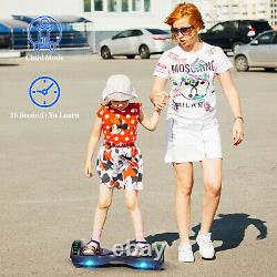 Hoverboard 6.5 Electric Scooters Bluetooth Self-Balancing Smart Wheel Board UK