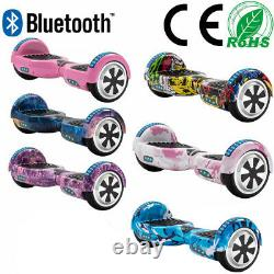Hoverboard 6.5 Electric Scooters Smart Balance Board E-scooter Bluetooth LED+Bag