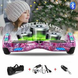 Hoverboard 6.5 Inch Bluetooth Electric Scooter LED 2 Wheels Lights Balance Board