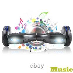 Hoverboard 6.5 Inch Self Balancing Board Bluetooth LED Light Electric Scooters