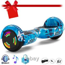 Hoverboard 6.5 Inch Self-Balancing Scooter Bluetooth Speaker Electric Scooters