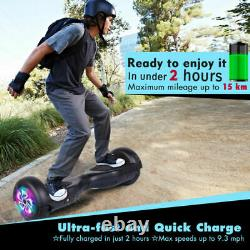 Hoverboard 6.5 Self Balancing Scooter Led Lights Electric Balance Board