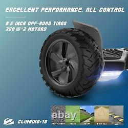 Hoverboard 8.5 Electric Self Balancing Scooter Bluetooth Speaker 1YR WARRANTY