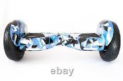 Hoverboard Balance Board Segway 10 OFF ROAD Bluetooth 700W Electric Blue Vortex