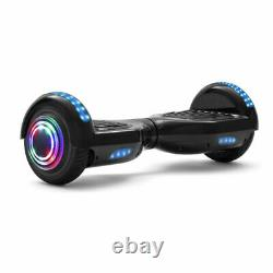 Hoverboard Black 6.5 Inch Electric Scooters Bluetooth 2Wheels Balance Skateboard