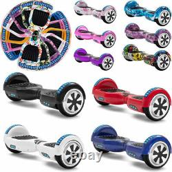 Hoverboard Bluetooth 6.5 Electric Scooters Colorful 2 Wheels Balance Skateboard
