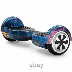 Hoverboard Bluetooth Electric Scooter LED Wheels Lights Self-Balancing Scooters