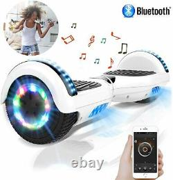 Hoverboard Bluetooth LED Electric Scooter Self Balance Board For Adult&Children