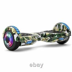 Hoverboard Camo Green 6.5'' Electric Scooter 2Wheels Self-Balancing Skateboard