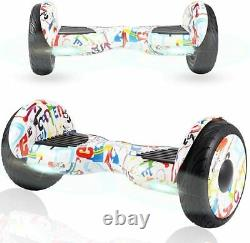 Hoverboard Electric Self Balancing Scooter 10 inch all terrain off road UK plug