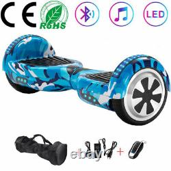 Hoverboard Kid 6.5 Inch Bluetooth Electric Scooters LED Self-Balancing Scooter