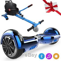 Hoverboard and Hoverkart 6.5 Inch Self Balancing Electric Scooter with Bluetooth