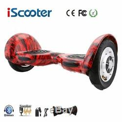 IScooter Bluetooth 10 Self Balancing Scooter Hover Balance Electric Board + Bag
