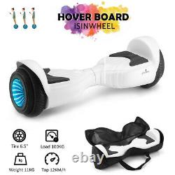 Kids Gift Hover board 6.5'' 500W Self-Balancing Electric Scooter LED Light WithBag