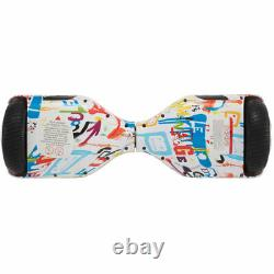 Kids Hoverboard 6.5 Graffiti Electric Scooters Bluetooth 2 Wheels Balance Board