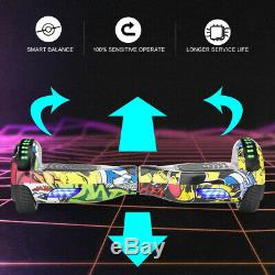 Kids SELF BALANCING SCOOTER ELECTRIC BLUETOOTH BALANCE BOARD WITH BAG REMOTE KEY