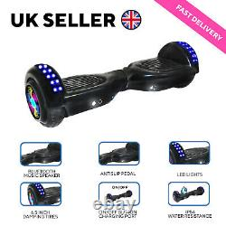 LED 6.5'' 2-Wheels Electric Hover Board Bluetooth Self Balancing Scooter