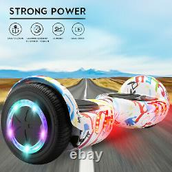 Latest Adjustable Hoverkart Hover board Balance Electric Hover Scooter w pads UK