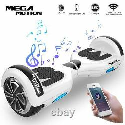 Mega Motion Kids Super Gifts Self Balanced Electric Scooter built in Bluetooth S
