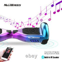 Megawheels 6.5'' 2-Wheels Electric Hover Board Bluetooth Self Balancing Scooter