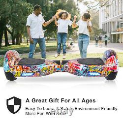 Megawheels 6.5 Inch Electric Self Balancing Hoverboard Scooter LED Wheels Lights