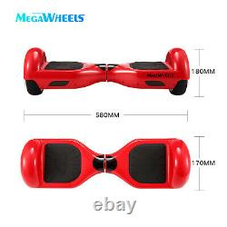 Megawheels 6.5 Inch Hoverboard Self Balancing Board Electric Scooter + Hoverkart
