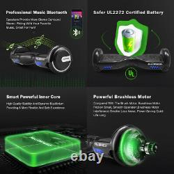 Megawheels Self Balancing Scooter Electric Bluetooth Balance Board With Led