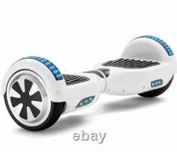 NEW Adjustable Hoverboard Balance Electric Hover Scooter Bluetooth LED Lights