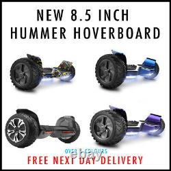 NEW! Hummer Hoverboard 8.5 Electric Self Balancing Scooter Bluetooth Speaker
