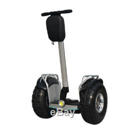 New 2020 Model 2000with60v Off Road Electric Self Balance Vehicle Single Battery