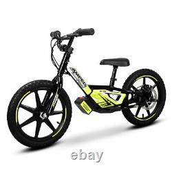 New Amped A16 Electric Balance Bike Black, Christmas Present