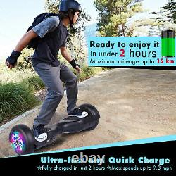 No Bluetooth 6.5 Inch Hoverboard Electric Scooters Self Balancing SkateBoard