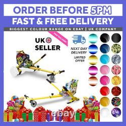 Official Bluetooth 6.5 Combo Electric Scooter Self Balance Hover Board Go kart