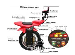 One wheel electric smart MOTORCYCLE unicycle self balance gyro red or blue NEW